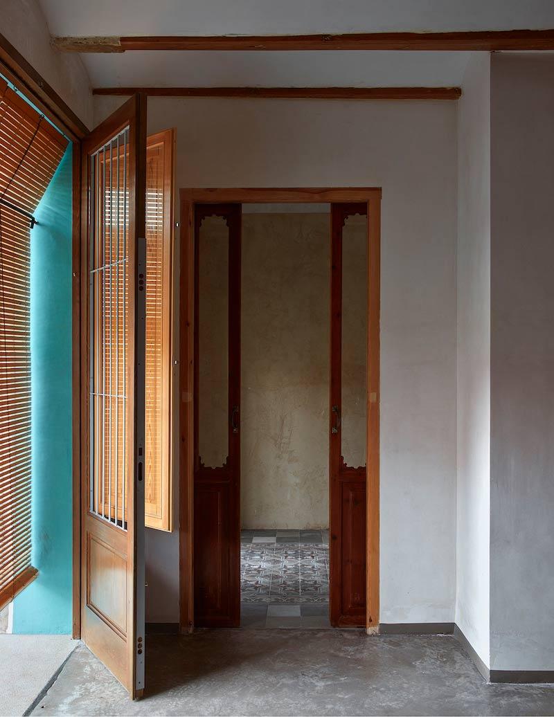 ventanales vivienda antigua persianas valencianas tradicionales