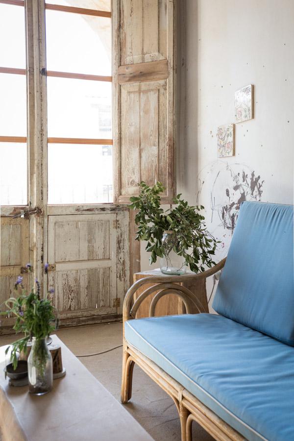Banco-azul-taller-de-Con-Alma-Design