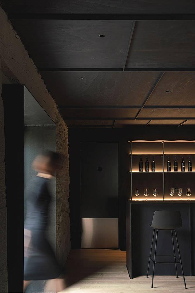 barra restaurante en hotel Casa Grande la Rioja