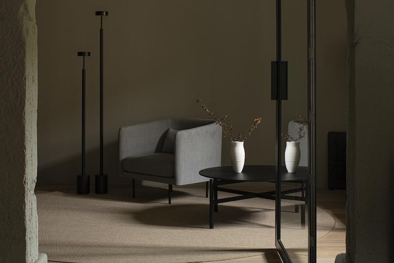 mobiliario diseno minimal hotel boutique La Rioja