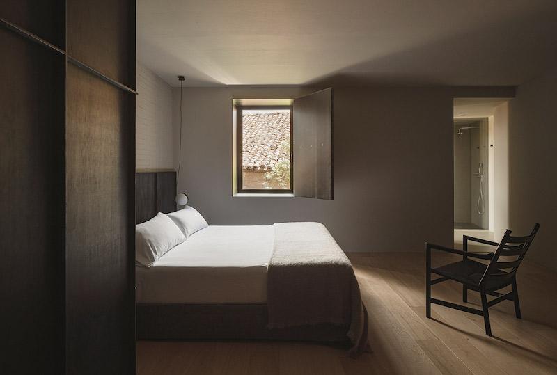 dormitorio suite en hotel boutique Casa Grande la rioja