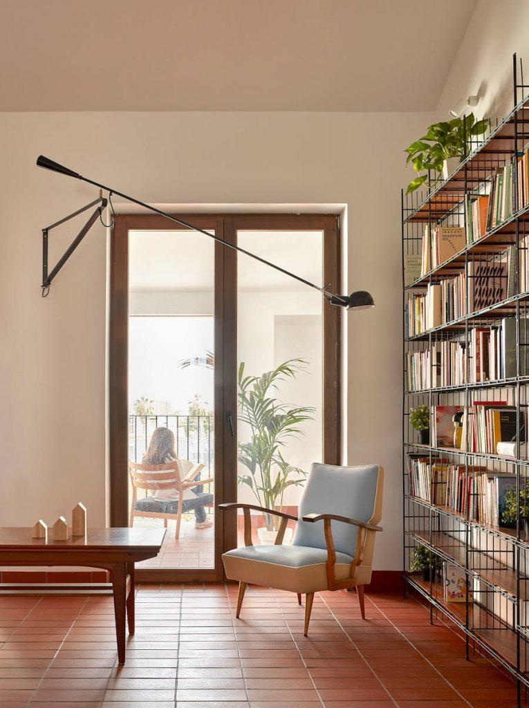 salon mobiliario retro estanteria modular Multistrux multimueble
